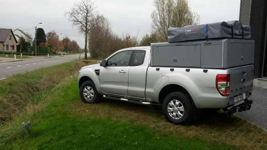 Tent unit - Ford Ranger
